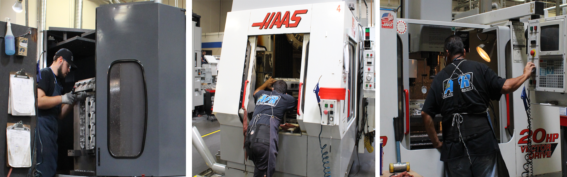 AFR's high quality machining process